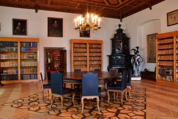 knihovna zamek straznice narodni ustav lidove kultury NULK