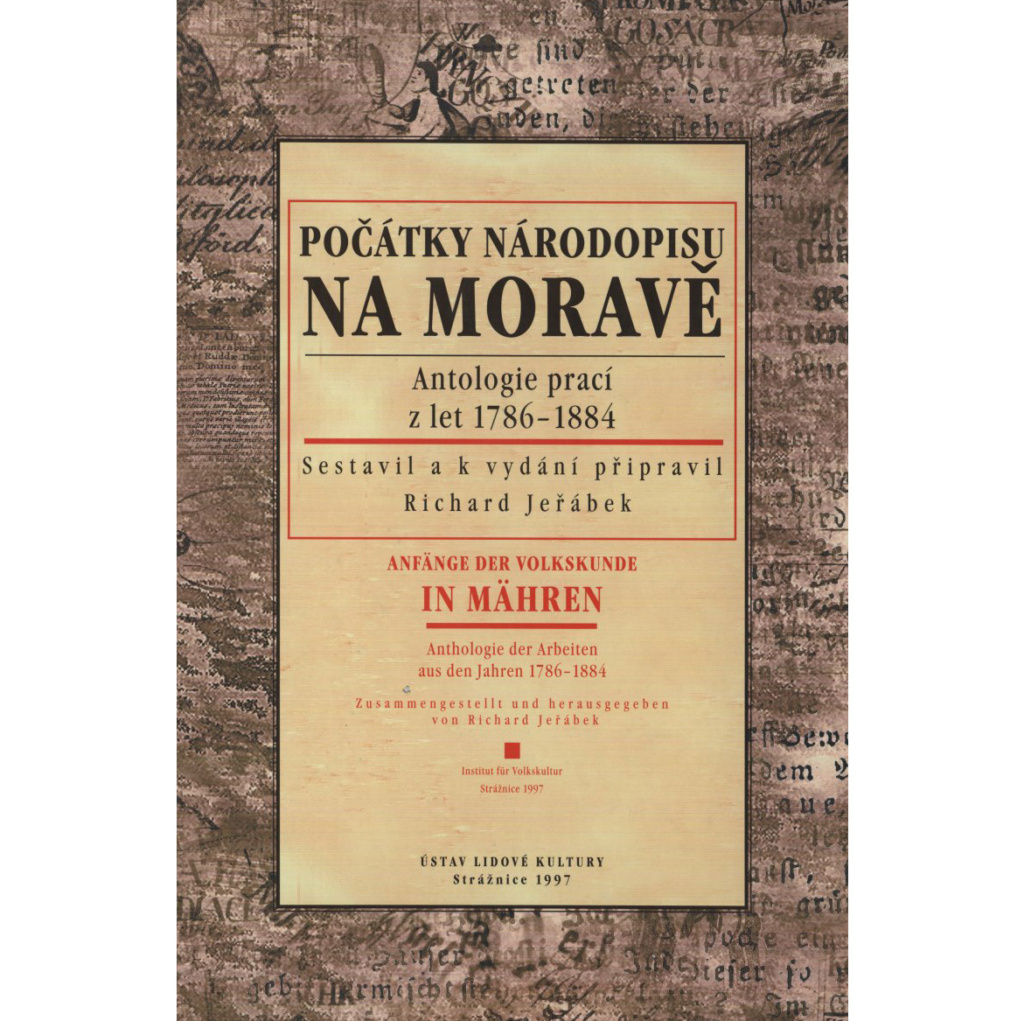 Počátky národopisu na MoravěRichard Jeřábek
